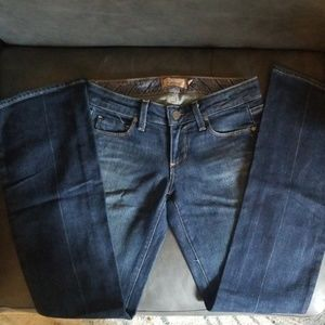 PAIGE petite flare jeans size 25